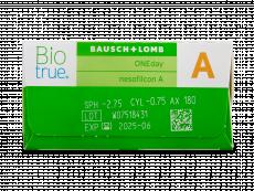 Biotrue ONEday for Astigmatism (30 linser)