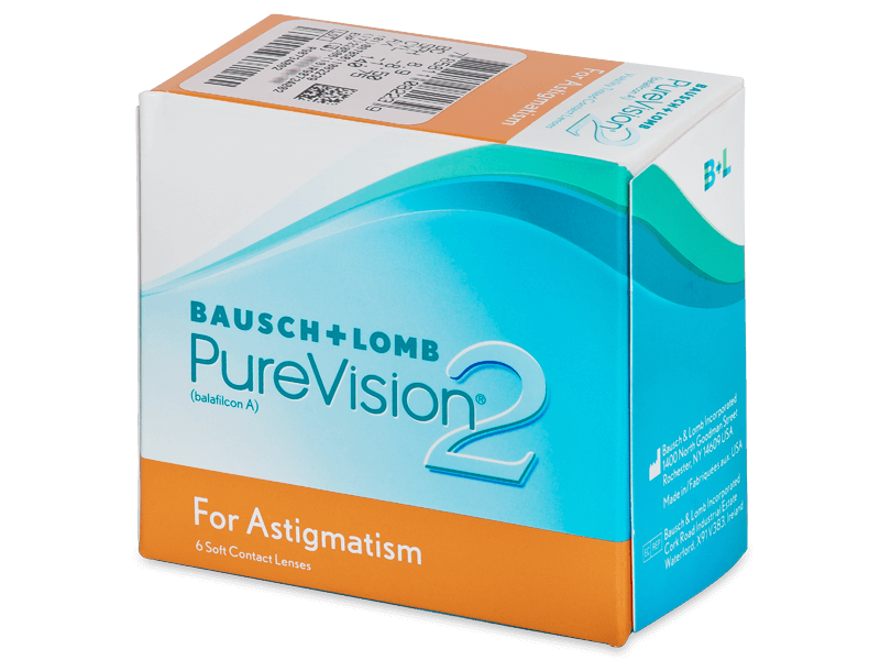 PureVision 2 for Astigmatism (6linser)