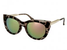 Alensa Katteøjne Solbriller Havana Lyserød Spejl
