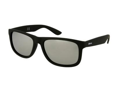 Alensa Sportssolbriller Sort Sølv Spejl
