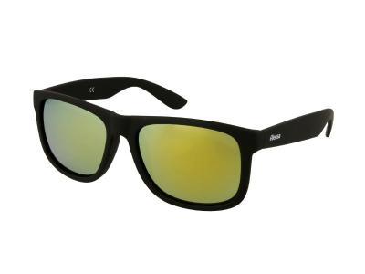 Alensa Sportssolbriller Sort Guld Spejl
