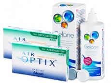Air Optix for Astigmatism (2x3linser) +GeloneLinsevæske 360ml