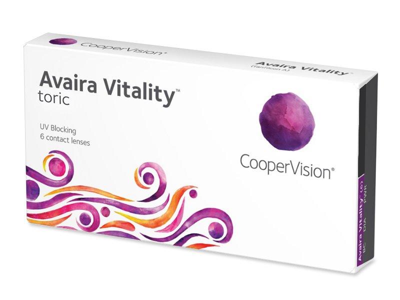 Avaira Vitality Toric (6 linser)