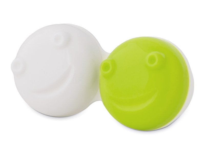Æske til Svingende Etui for kontaktlinser - grøn