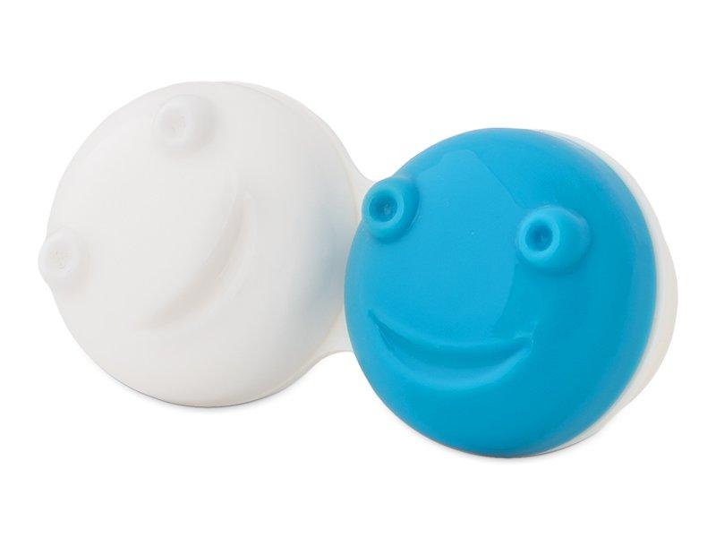 Æske til Svingende Etui for kontaktlinser  - blå