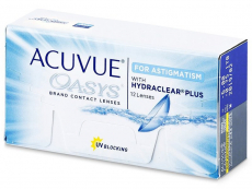 Acuvue Oasys for Astigmatism (12 linser)