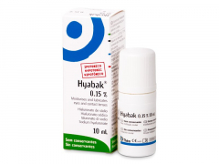 Hyabak Øjendråber 10 ml