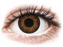 Air Optix Colors - Brown - med styrke (2linser)