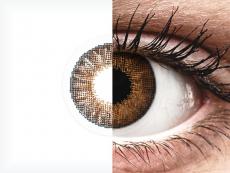 Air Optix Colors - Brown - uden styrke (2linser)