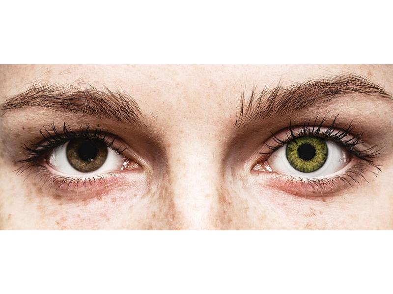 Air Optix Colors - Gemstone Green - uden styrke (2linser)