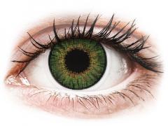 Air Optix Colors - Green - med styrke (2linser)