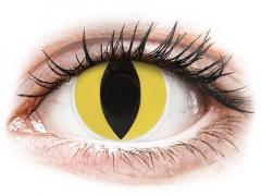 ColourVUE Crazy Lens - Cat Eye - uden styrke (2 linser)