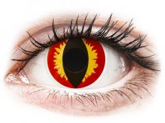 ColourVUE Crazy Lens - Dragon Eyes - uden styrke (2 linser)