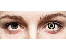 ColourVUE Crazy Lens - Eclipse - uden styrke (2 linser)