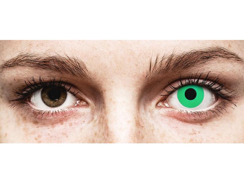ColourVUE Crazy Lens - Emerald (Green) - uden styrke (2 linser)