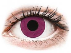 ColourVUE Crazy Lens - Purple - uden styrke (2 linser)