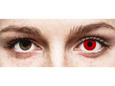 ColourVUE Crazy Lens - Red Devil - uden styrke (2 linser)