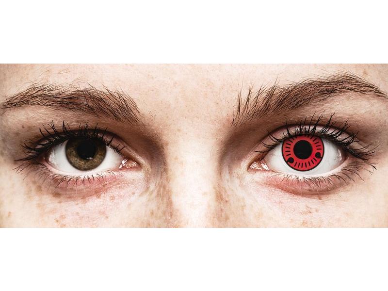 ColourVUE Crazy Lens - Sasuke - uden styrke (2 linser)