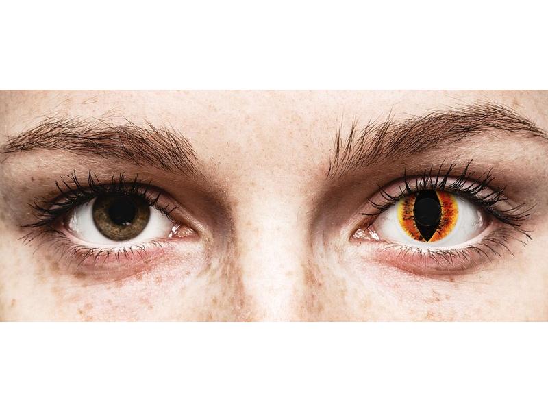 ColourVUE Crazy Lens - Saurons Eye - uden styrke (2 linser)