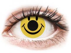 ColourVUE Crazy Lens - Smiley - uden styrke (2 linser)
