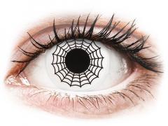 ColourVUE Crazy Lens - Spider - uden styrke (2 linser)