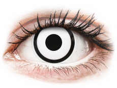 ColourVUE Crazy Lens - White Zombie - uden styrke (2 linser)