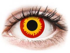 ColourVUE Crazy Lens - Wildfire - uden styrke (2 linser)