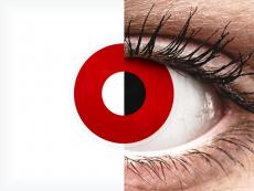 ColourVUE Crazy Lens - Red Devil - med styrke (2 linser)