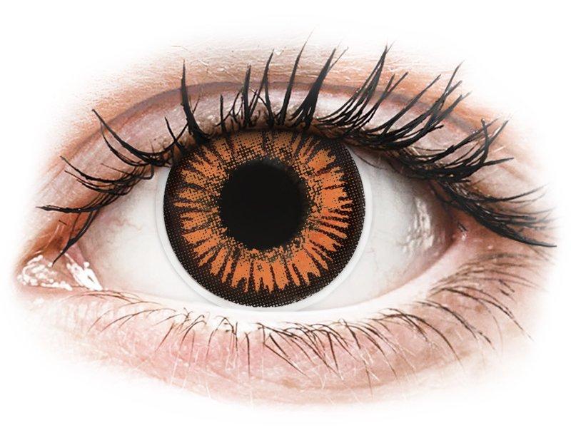 ColourVUE Crazy Lens - Twilight - med styrke (2 linser)