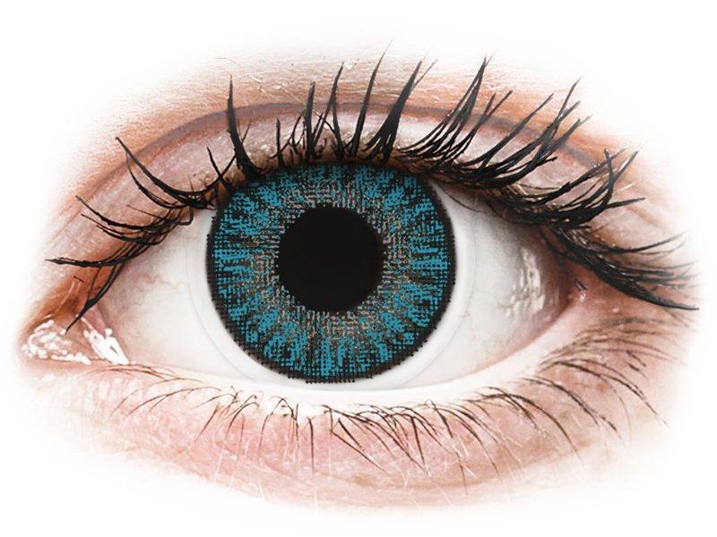 TopVue Color daily - Blue - uden styrke (10linser)
