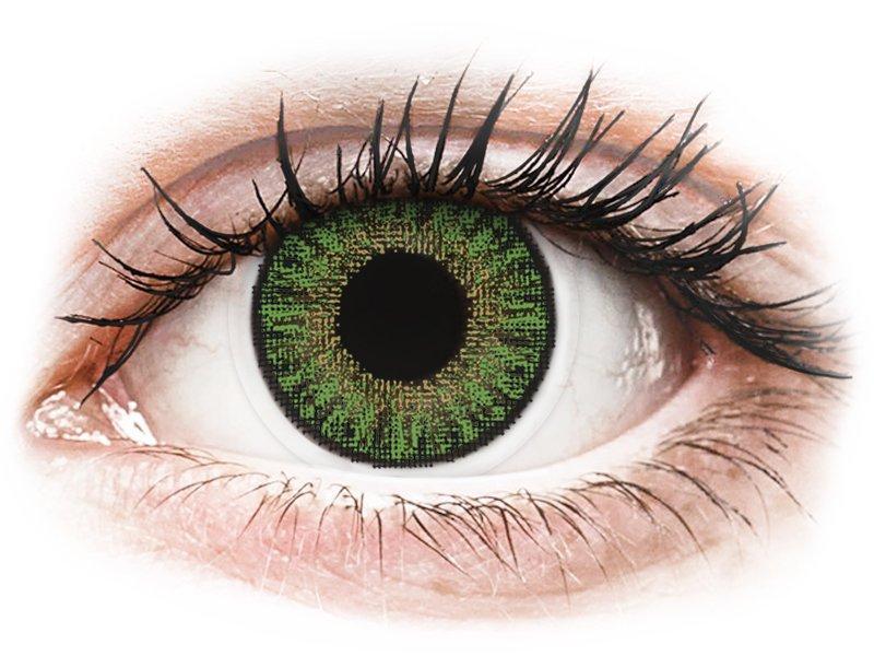 TopVue Color daily - Green - uden styrke (10linser)