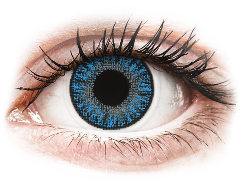 TopVue Color daily - Sapphire Blue - med styrke (10linser)