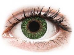 TopVue Color - Green - med styrke (2linser)