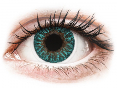 TopVue Color - Turquoise - styrke (2 linser)