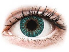 TopVue Color - Turquoise - uden styrke (2 linser)
