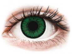 SofLens Natural Colors Emerald - med styrke (2 linser)