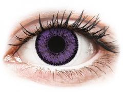 SofLens Natural Colors Indigo - med styrke (2 linser)
