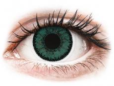 SofLens Natural Colors Jade - med styrke (2 linser)