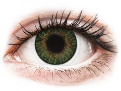FreshLook ColorBlends Gemstone Green - med styrke (2 linser)