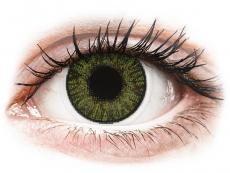 FreshLook ColorBlends Green - med styrke (2 linser)