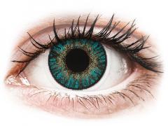 FreshLook ColorBlends Turquoise - med styrke (2 linser)