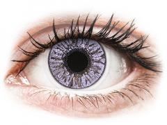 FreshLook Colors Violet - med styrke (2 linser)