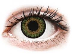 FreshLook One Day Color Green - med styrke (10 linser)