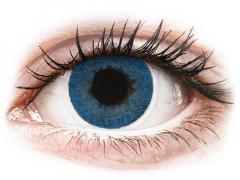 FreshLook Dimensions Pacific Blue - med styrke (6 linser)