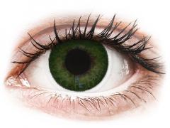 FreshLook Dimensions Sea Green - med styrke (6 linser)