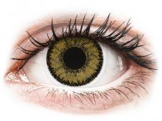 SofLens Natural Colors Dark Hazel - med styrke (2 linser)