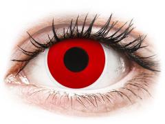 ColourVUE Crazy Lens - Red Devil - endagslinser uden styrke (2 linser)