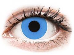 ColourVUE Crazy Lens - Sky Blue - endagslinser uden styrke (2 linser)
