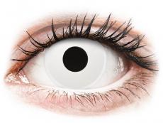 ColourVUE Crazy Lens - Whiteout - endagslinser uden styrke (2 linser)
