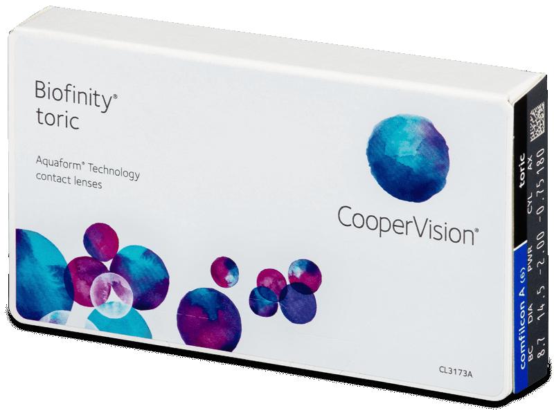 Biofinity Toric (6linser)